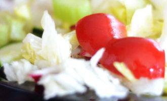 Овощной салат из пекинской капусты ПП