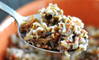 Рецепт ПП гарнира: смесь из красного риса и дикого риса